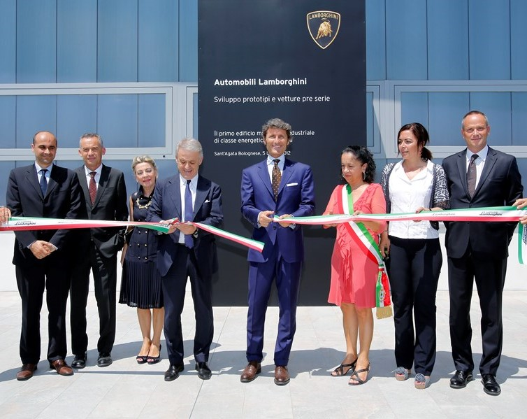 Automobili Lamborghini opens new building designed for the development of prototypes and pre-series vehicles