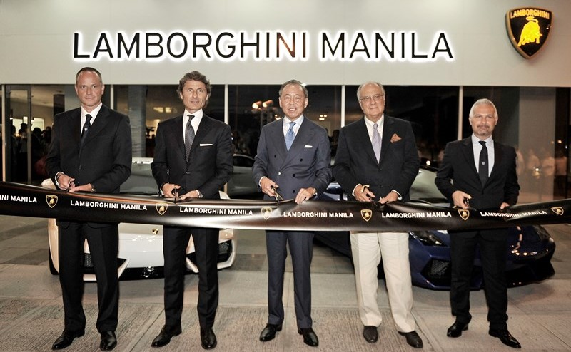 Lamborghini continues Asia expansion with showroom openings and debut of Asian Lamborghini Blancpain Super Trofeo race series