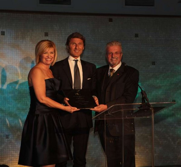 Lamborghini President and CEO honored by Italian American Chamber of Commerce