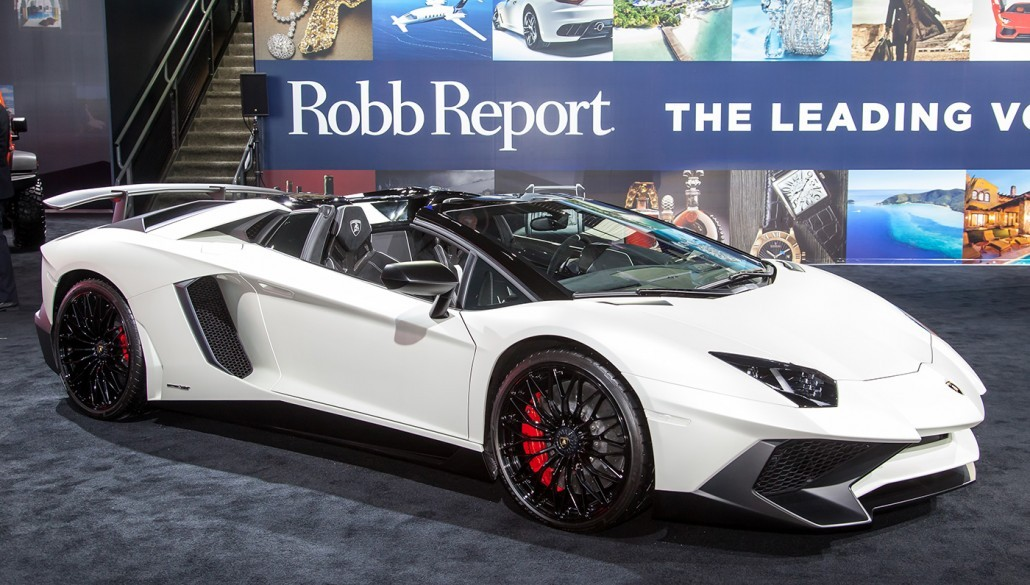 Robb Report Live at the Detriot International Auto Show