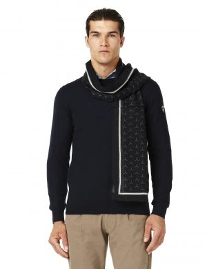 Lamborghini Y-patterned scarf