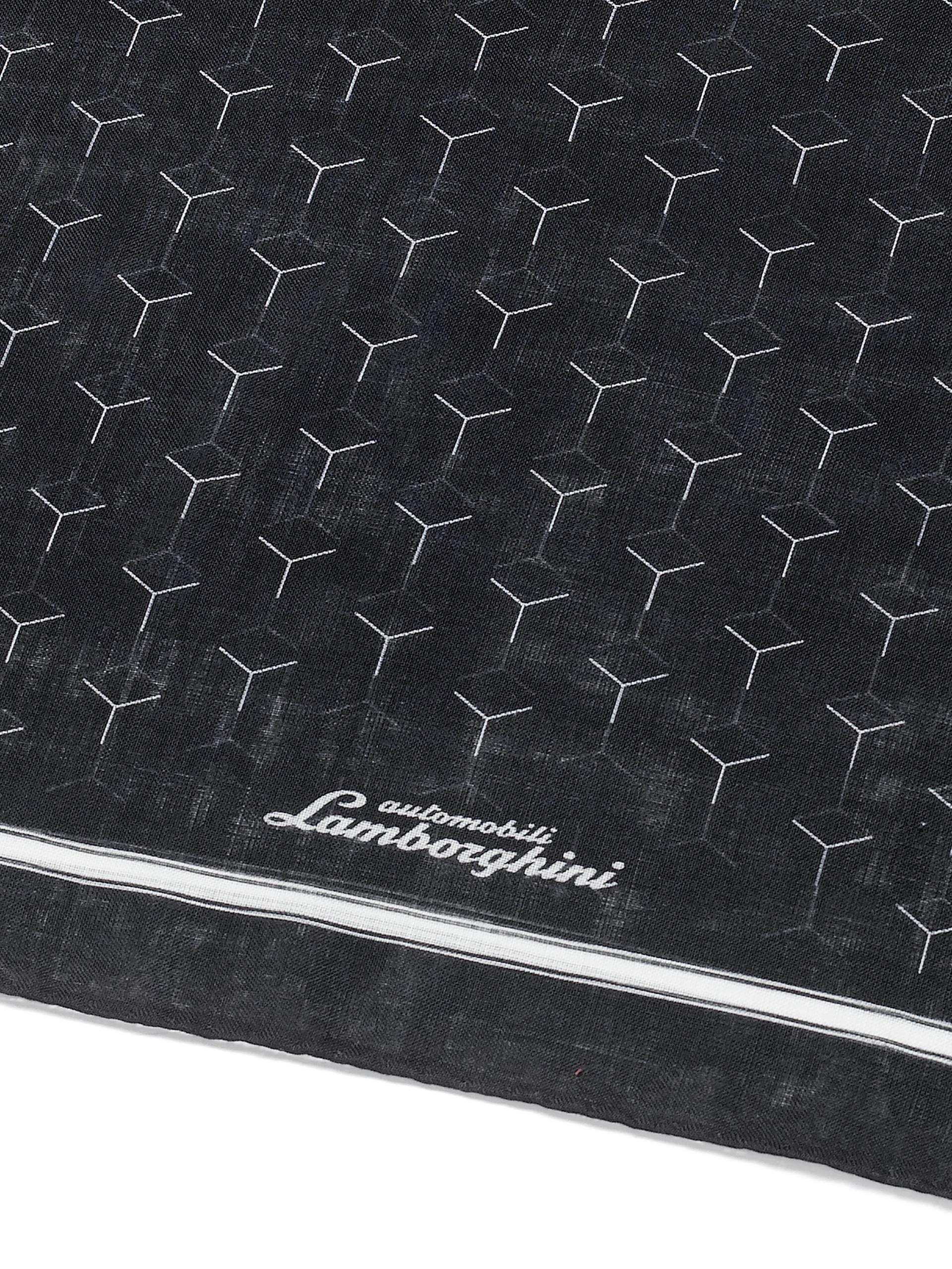 Lca Store Lamborghini Y Patterned Scarf Lamborghini