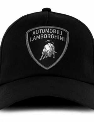 Lamborghini Black Shield Hat