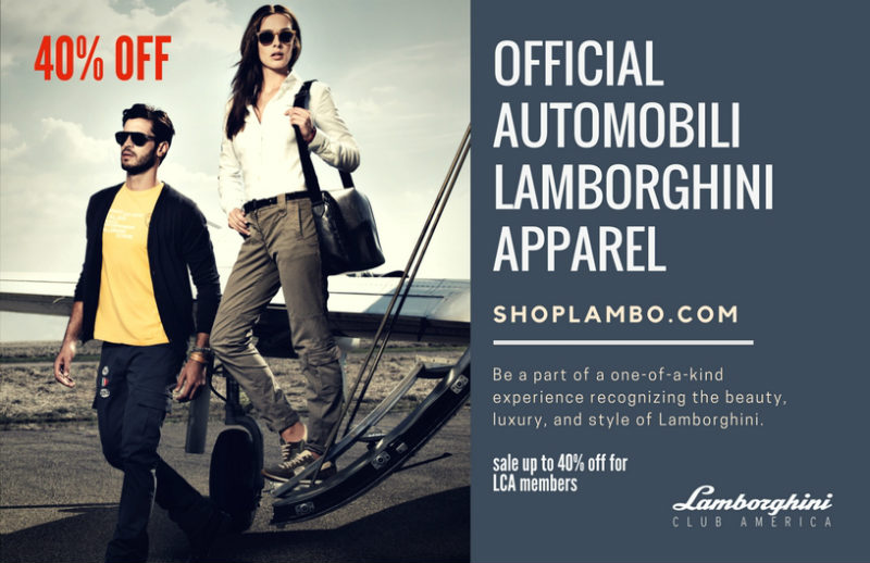 Lamborghini Club  America Launches ShopLambo.com