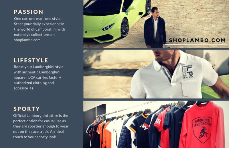 official lamborghini merchandise