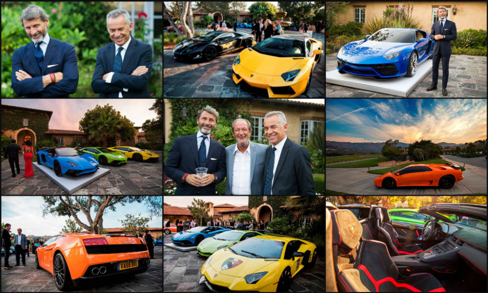 The Lamborghini Club America Gala, Serata Italiana