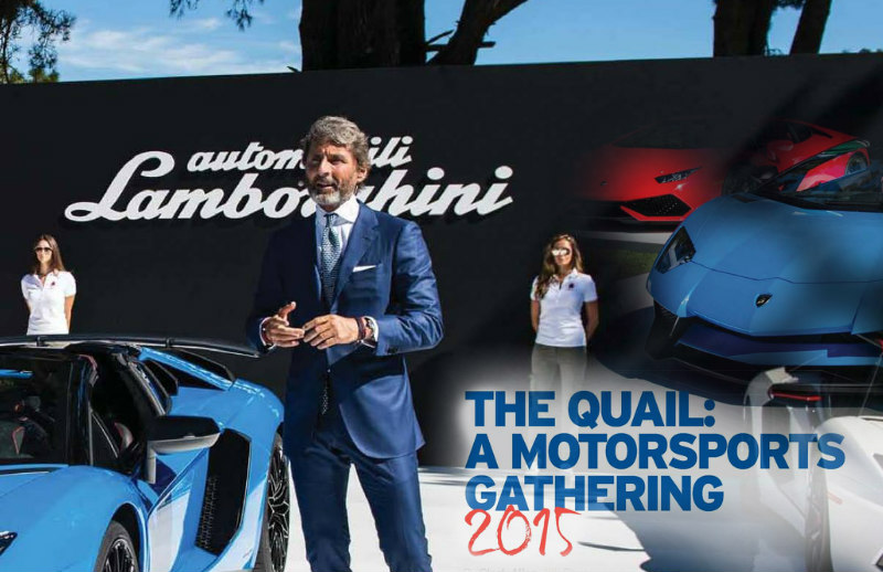 The Quail Motorsports Gathering 2015