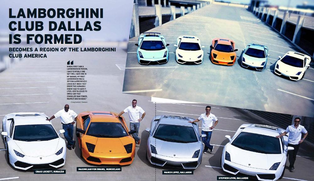 Lamborghini club dallas