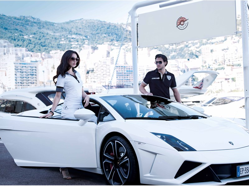 Collezione Automobili Lamborghini: Menswear and Womens Wear 2013