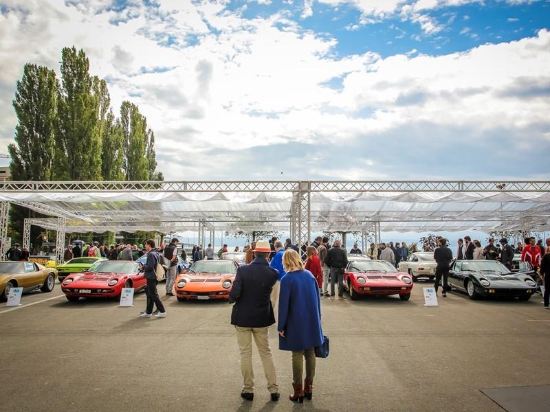 First Lamborghini Concours d'Élégance at Neuchâtel