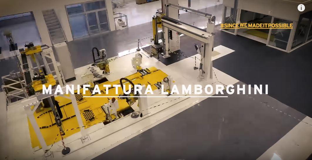 The New Lamborghini Factory in Sant'Agata Bolognese