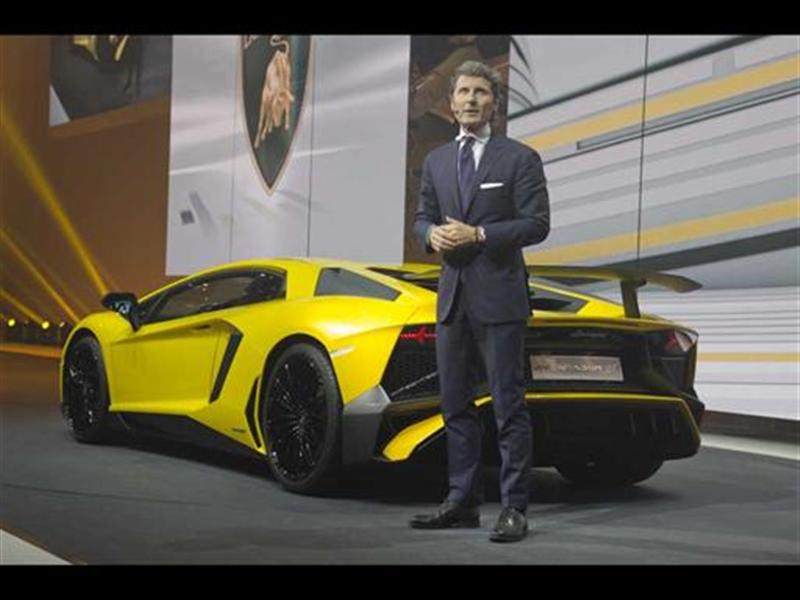 2014 Record Year for Automobili Lamborghini in Sales and Turnover