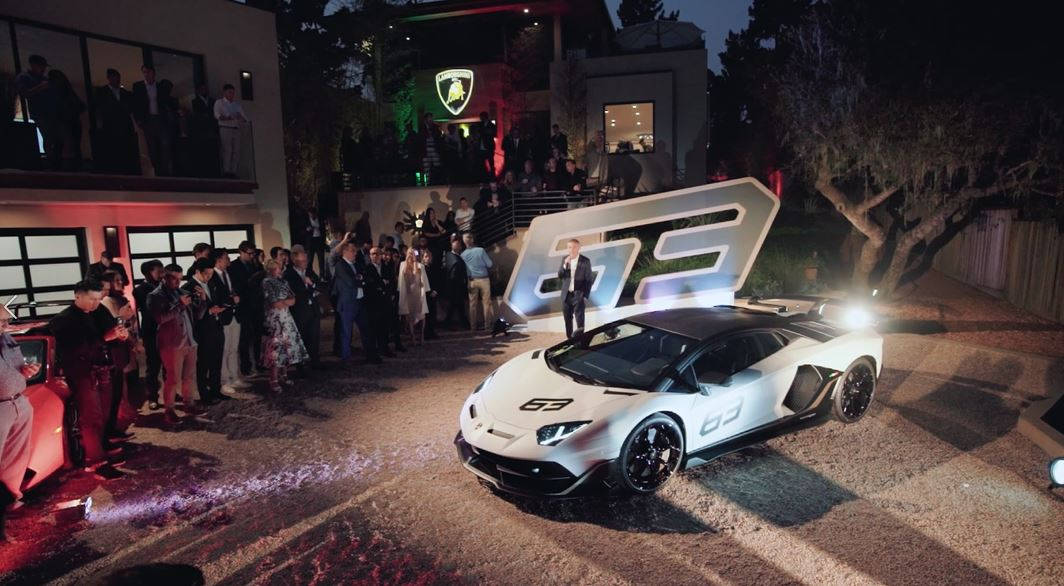 VIDEO: Lamborghini Lounge Monterey