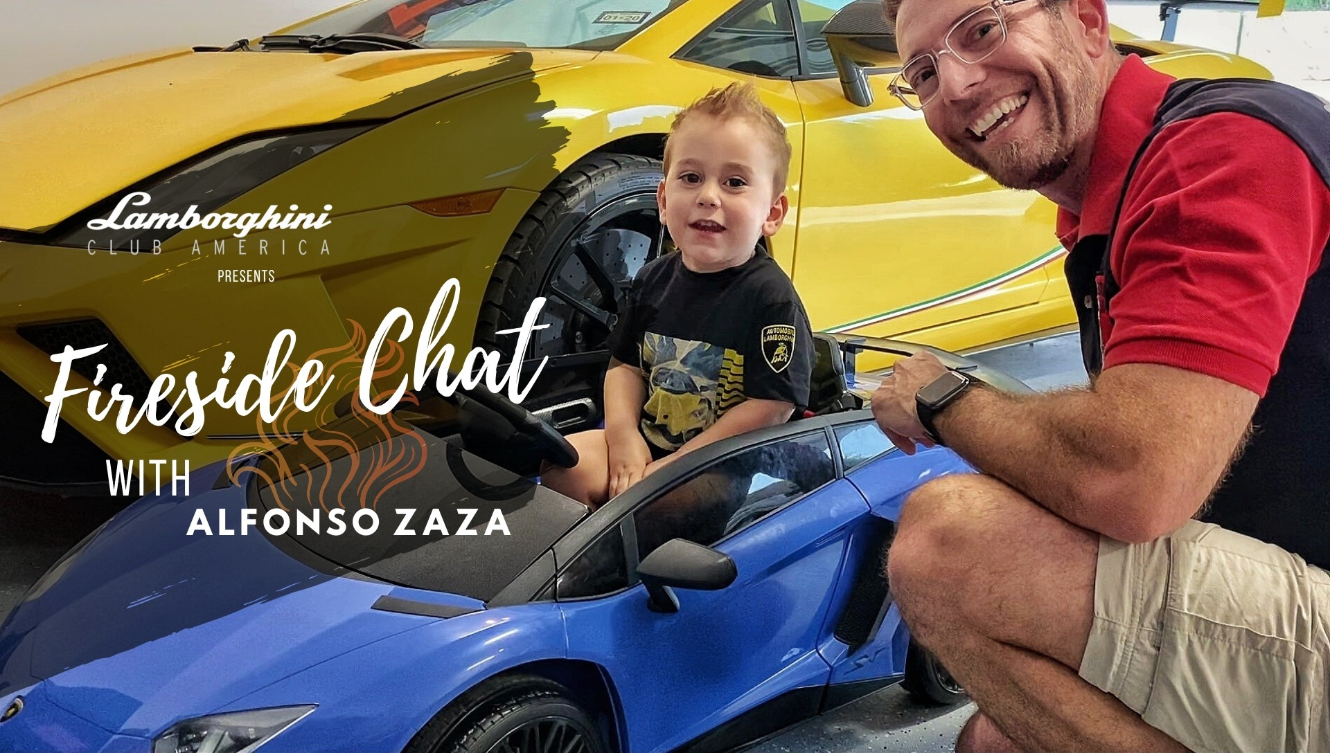 Lamborghini Club America Fireside Chat with Alfonso Zaza