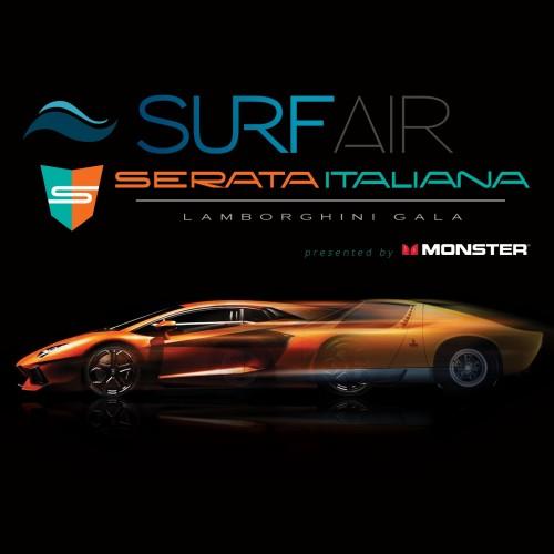 SPONSOR ANNOUNCEMENT: Surf Air Named Title Sponsor of Serata Italiana Lamborghini Gala